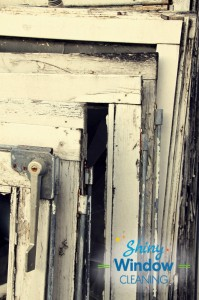 Antique window frames - Repurposing Old Windows